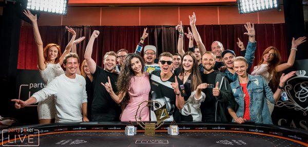 partypoker's Anatoly Filatov Wins 2018 LIVE MILLIONS Russia Main Event
