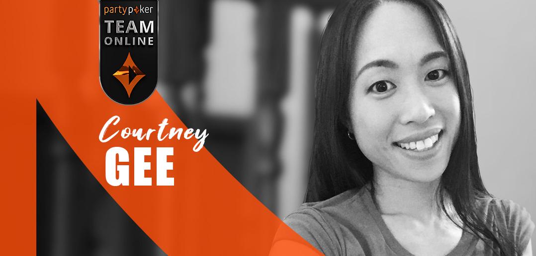 Courtney gee of Team Online
