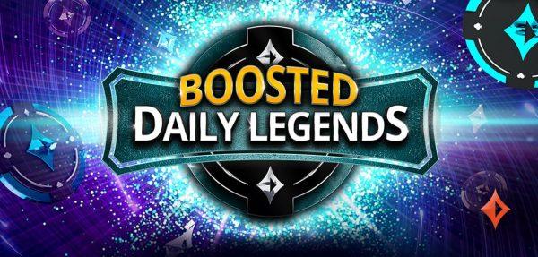Boosted Daily Legends: MTT-Tickets im Wert von mehr als $400.000 zu gewinnen