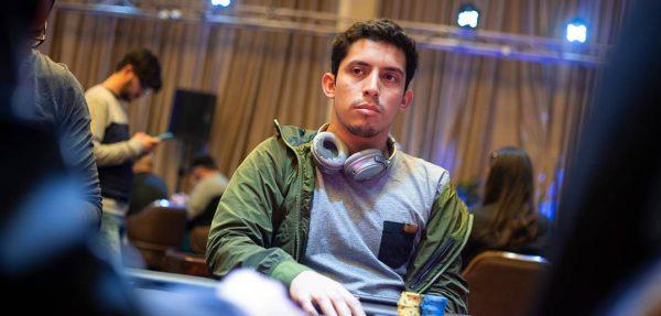 Ventura brilló y lidera el Main Event del Caribbean Poker Party Online