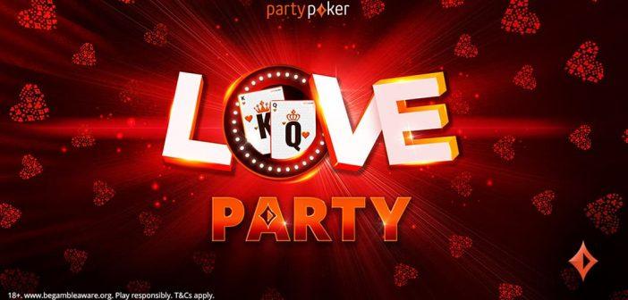 Вечеринка любви от partypoker