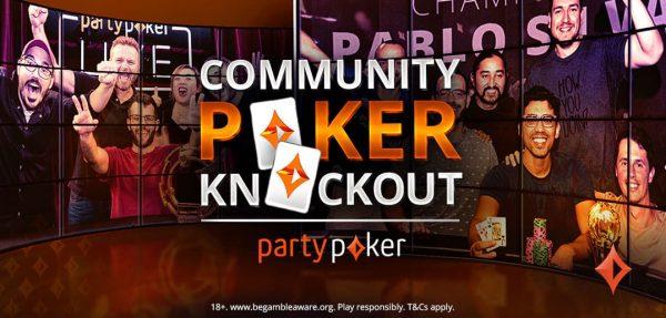 ¡Vuelve el Community Poker Knockout a partypoker con más premios!