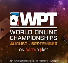 Se van las primeras 20 entradas al WPT World Championship