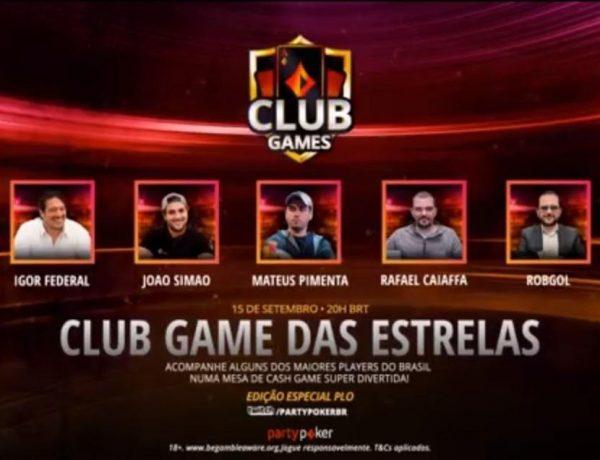 Com Federal, Simão e companhia, Club Game das Estrelas agita Twitch em noite de PLO